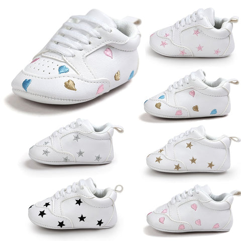 New Arrive Baby First Walkers Baby Soft Bottom Fashion  Newborn Babies Shoes