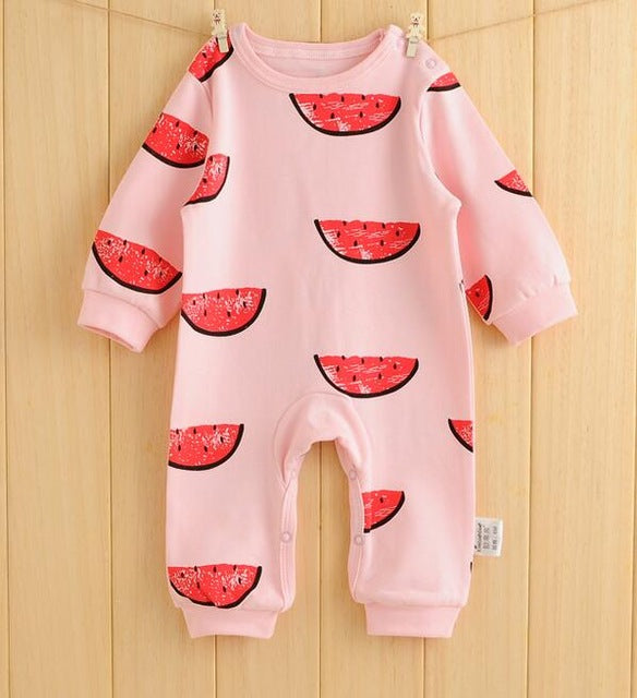 3b8d5a086782a ... Newborn Baby Clothes Cartoon Baby Rompers Long Sleeve Baby Girls  Clothing Spring Baby Boy Jumpsuits Roupas ...