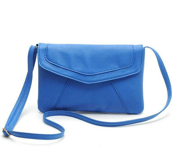 New Fashion Women Envelope Bag PU Leather Messenger bag Handbag Shoulder Crossbody Bag Purses clutch Bolsas  LS319