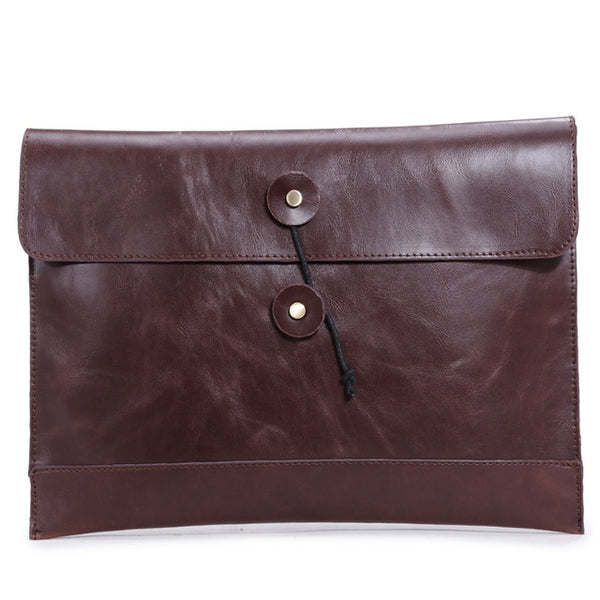 fashion men handbag genuine leather men briefcase casual Hasp envelope bag business men messenger bags men travel bags6920