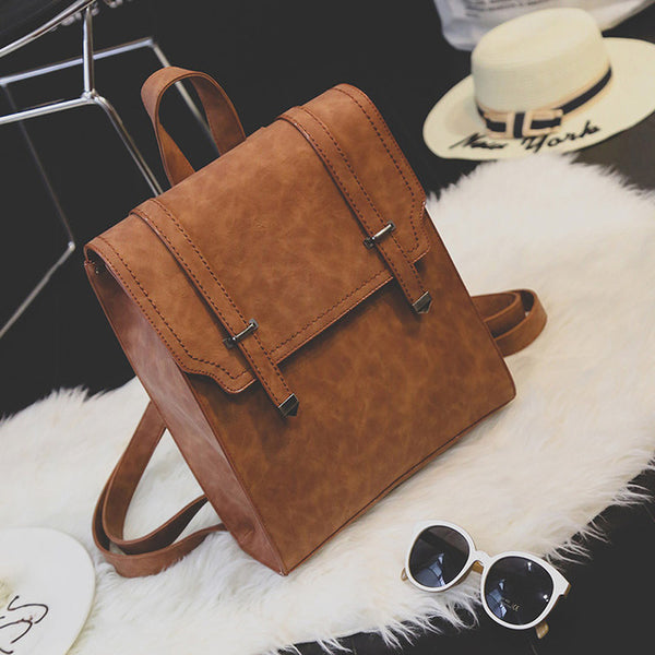 New Designed Brand Cool Urban Backpack Double Arrow  Women Backpack Quality Fashion Girls School Bag 1592