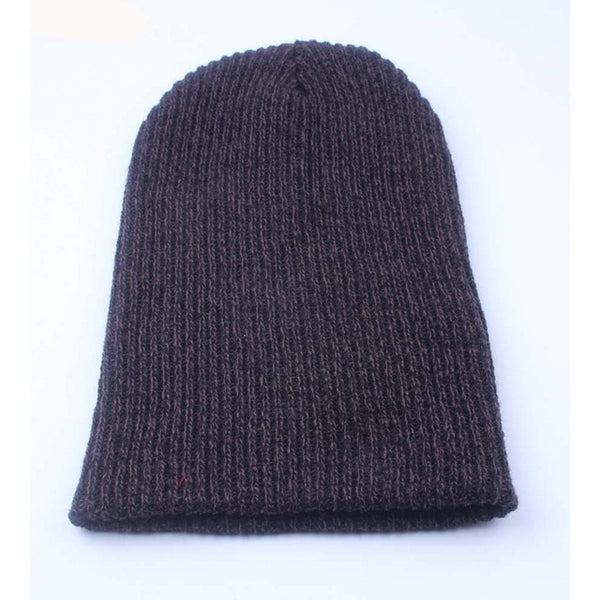 1pcs Winter Beanies Solid Color Hat Unisex Plain Warm Soft Beanie Skull Knit Cap Hats Knitted Touca Gorro Caps For Men Women Cap