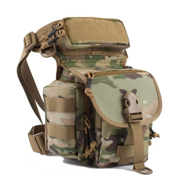 Outdoor Multifunctional Tactical Drop Leg Bag SWAT Hunting Tool Waist Pack Motorcycle Sports Ride Men Pack
