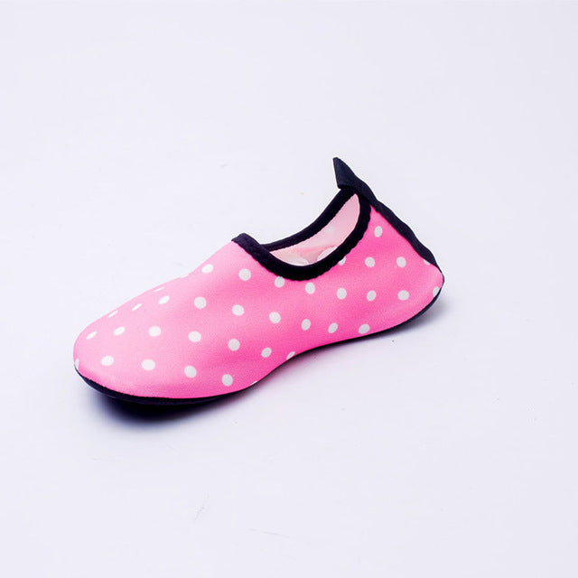 Quick Dry Children Boys Shoes sport running Anti-slip for Swimming Pool/Beach Dot Kids Shoes Boy Girl Sneakers