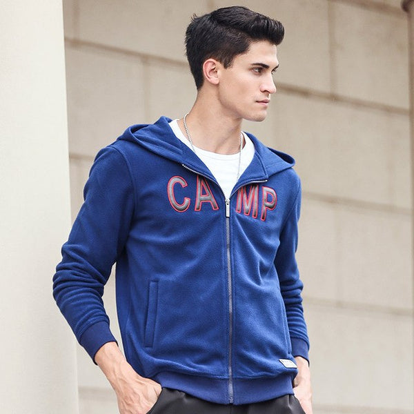 New hoodie zipper hoodies men brand male autumn winter hoodies top quality thick fleece sweatshirts for men 622171