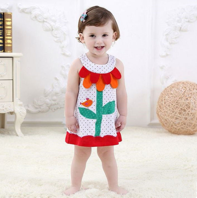 Baby Girl Dress Summer baby Brand  Dress Kid Clothes Vestiges Children Dress Princess Party Dresses for Girls 1-3 years