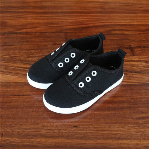Spring Kids Canvas Shoes Toddler Boys