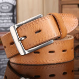 designer belts men high quality brown luxury big plus size 100% real full grain cowhide genuine leather 140 cm 150 160 145 155