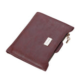 Designer Slim Women Wallet Thin Zipper Ladies PU Leather Coin Purses Female Purse Mini Clutch Cheap Womens Wallets