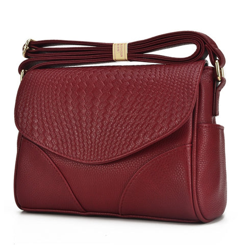 High Quality Fashion Women Messenger Bags Genuine Leather Cowhide Women Small Bag Ladies Handbags Female Crossbody Shoulder Bags