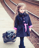 European Autumn Kids Jackets Girls Fashion Manteau Enfant Fille Cute Dot Spring Girls Coats And Jackets