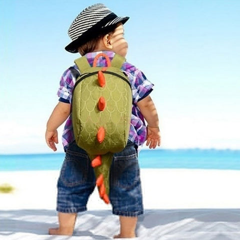 Kids Backpack Cotton Dinosaurs School Bags mochila infantil Cartoon Animals Small Bag Boys/Girls Bag School