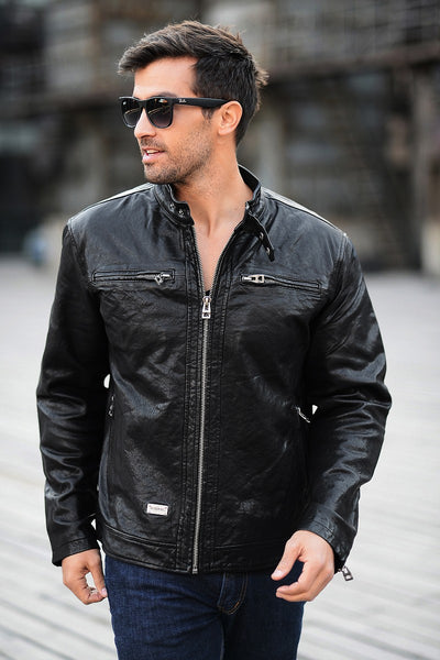 Dermis Leather Jacke Men Genuine Sheepskin/Suede Leather Jacket Fashion Brand Design Casual Slim Biker Motorcycle Coat Jaqueta