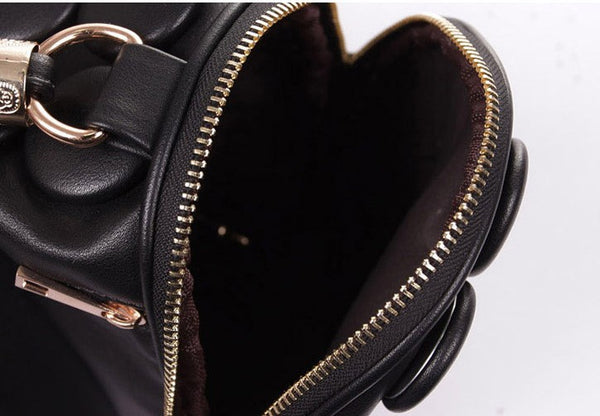 Women's Handbags Boston Bags Ladies Tassel Button Messenger Bags Leather Shoulder Bags Designer Bucket Bag Clutch Bolsas