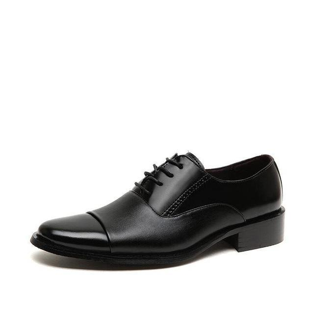 Working Office Shoes Mens Leather Shoes White Dress Shoes Business