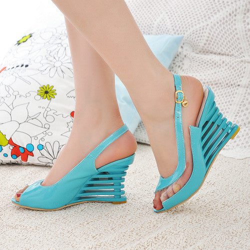 Shoes Women Sandals Bottom High Heels Sapato Feminino Summer Style Chaussure Femme 3-2