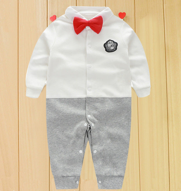 ee2e63fa2fe5 Toddler Baby Rompers Autumn Roupas Infant Jumpsuits Boy Clothing ...
