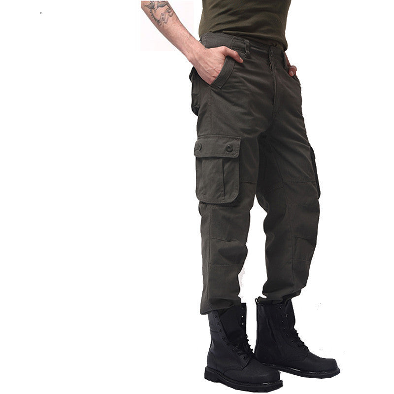 Men's Cargo joggers Pants Military for Men multi pocket Overalls tactical Army Trousers Camouflage fashion