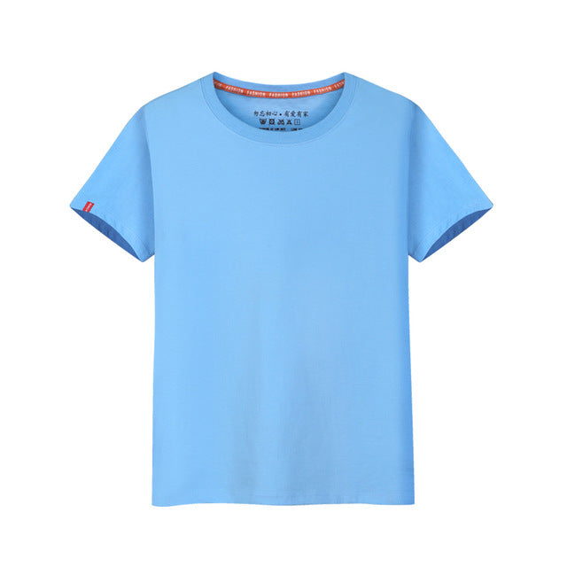 f5c2759a JOHNKART.COM. $23.11 USD. 15 colors boys t shirts cotton t-shirts girl  striped camouflage solid tops tees ...