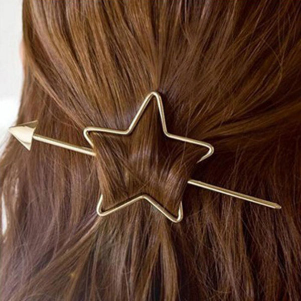 Fashion Elegant Women Hair Sticks Pearl Hair Accessories Star Arrow Party Wedding Hairpins Lovely Gift Headwear Hair Accessories