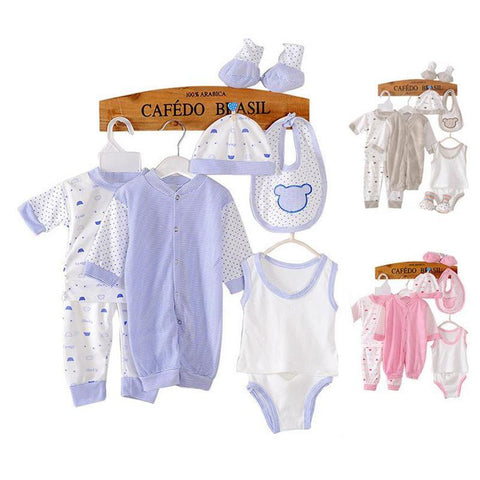 8PCS Baby clothing tracksuit newborn baby infant boy clothes children cloth suit new born toddler girl baby clothing sets