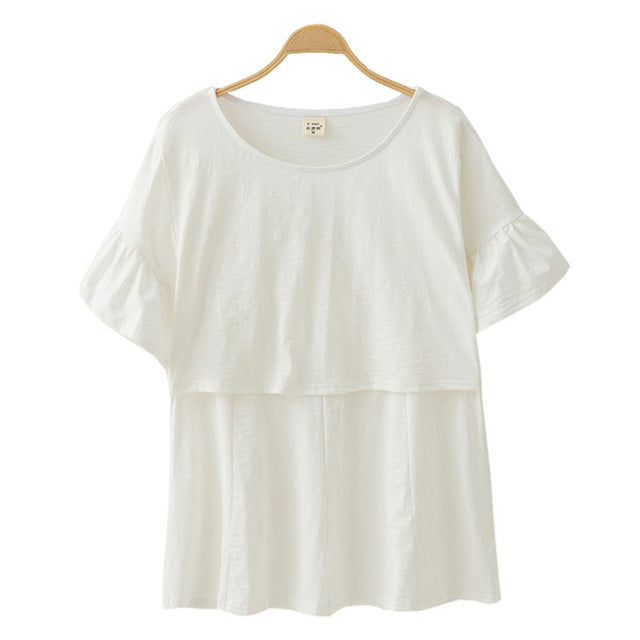 99187293194 ... Breast Feeding Nursing Tops Maternity Clothes Pregnancy Clothing  Maternity T-shirt Breastfeeding Tees Clothes For ...