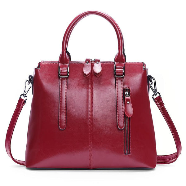 Brand Genuine leather Women Handbag Soft Leather Fashion Shoulder Bag Large capacity Casual Women Bag