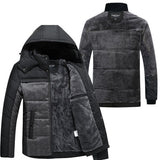 new Brand winter warm Jacket for men hooded coats casual mens thick coat male slim casual cotton padded  casual warm