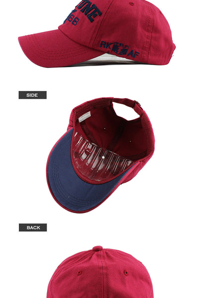 fashion unisex Baseball Cap Embroidery snapback hat for men women Cotton Casual caps Hat wholesale F238