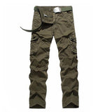Cotton Loose Cargo Pants Men Military Style Army Tactical Pants Casual Trousers Size 29-40 AG-BDC-02