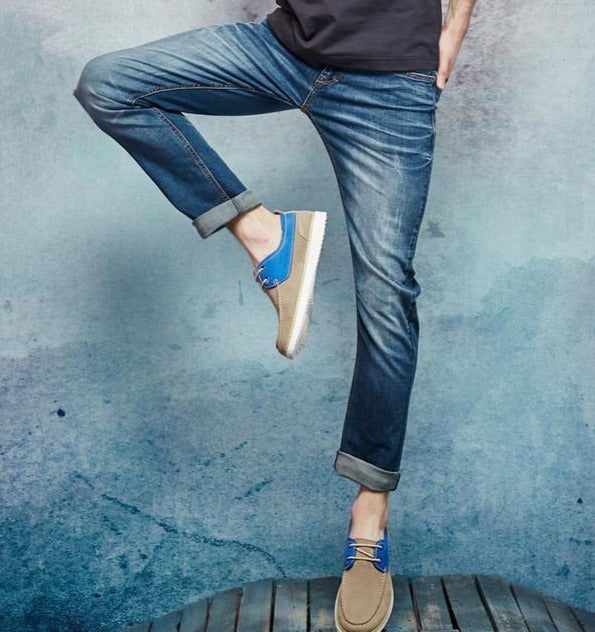Skinny Jeans Men Fashion Casual Jeans Male Brand New Denim Pants Top Quality Thin Soft Stretch Trousers