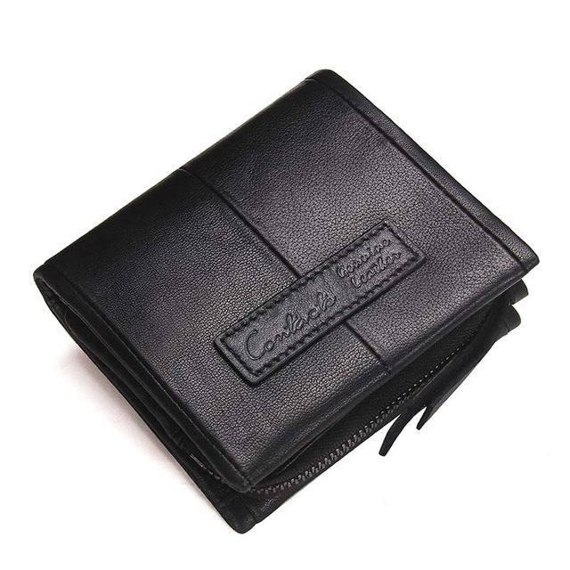 Contact S Fashion Genuine Leather Women Wallet Small Standard
