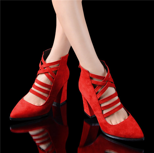 new arrive women pumps fashion zipper pointed toe flock summer shoes elegant lady prom shoes