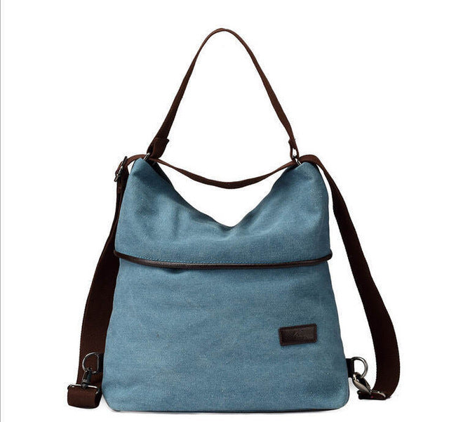 Multifunctional Canvas Handbag Vintage Shoulder Bags Women Messenger Bags High capacity Ladies Bolsa Feminina