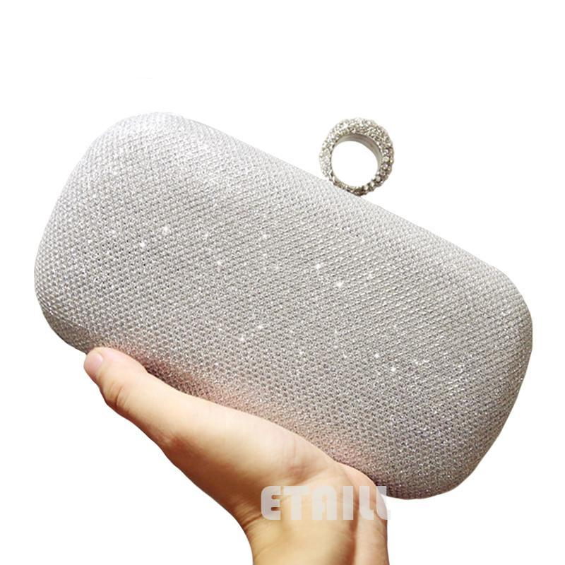 Silver Clutches for Women