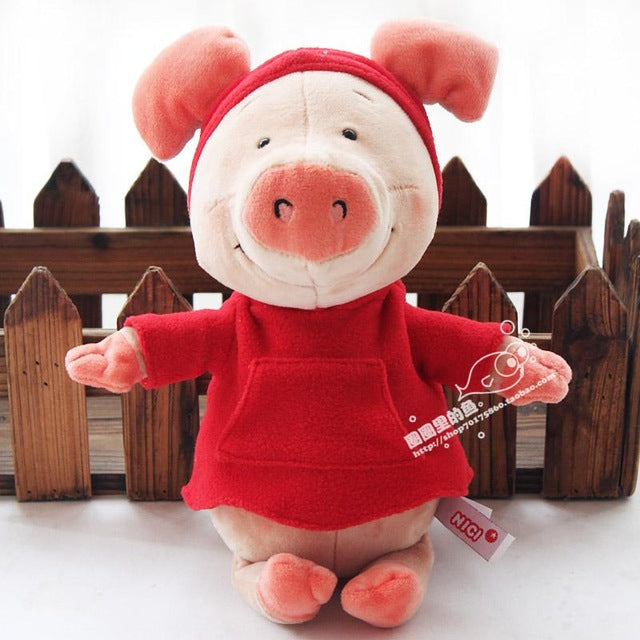 Popular Cartoon 30cm Nici Pig Wibbly Pig 4 Styles Plush Soft Doll Animal Stuffed Toy For Kid Children Birthday Gift Good Quality