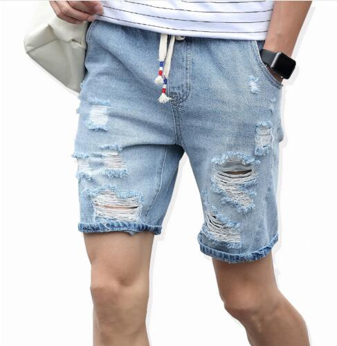 Men Shorts Brand Summer New Men Jeans Shorts Plus Size Fashion Designers Shorts Cotton Jeans Men's Slim Jeans Shorts Men