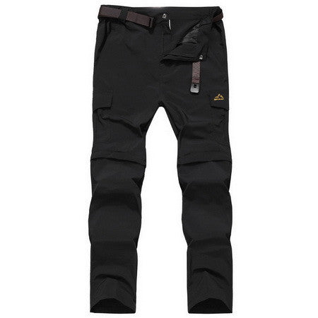 Fashion Detachable Breathable Men Pants Summer Travel Loose Multifunction Trousers Mens Waterproof Casual Pants,AM052