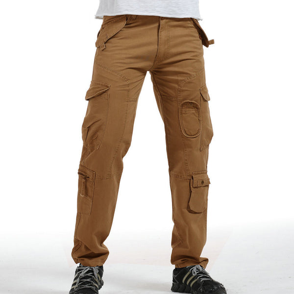 Hot Tactical Pants Men Cotton Military Casual Cargo Mens Pants Pantalon Homme