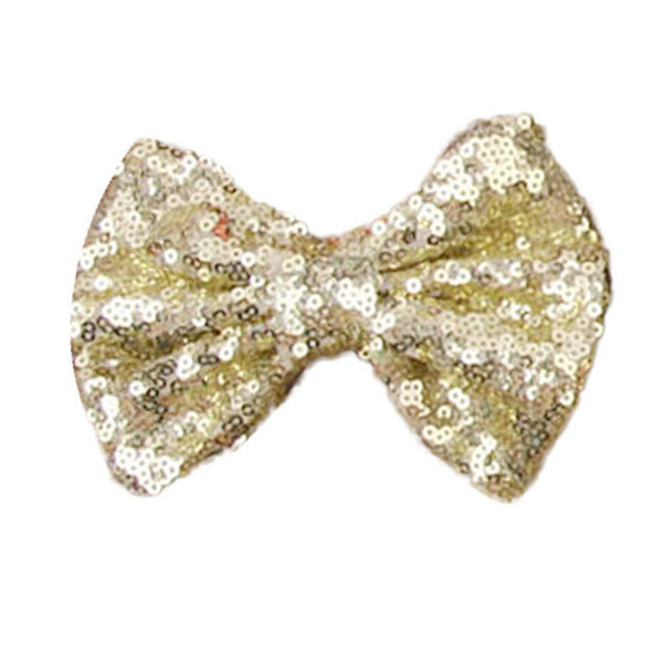New  Sequin Barrettes Cute  Girl Big Bow Hair Accessories for  shipping #LSW
