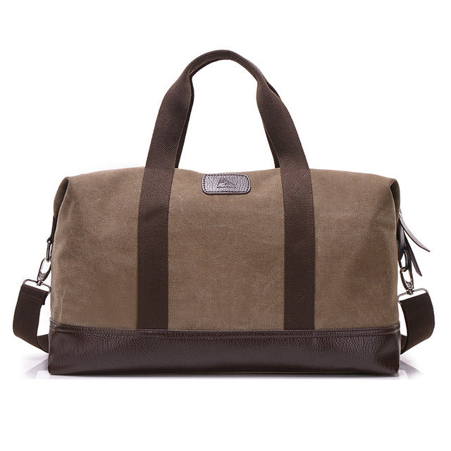 Large Capacity Canvas Travel Bags Casual Men Hand Luggage Travel Duffle Bag Big Tote 5 Colors Male Crossbody bag PT1234