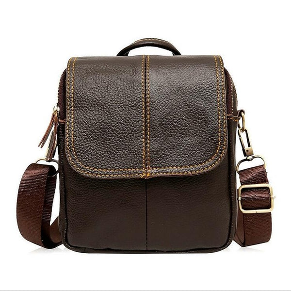 New Style Genuine Leather Men Messenger Bags Shoulder Bags BARCA Hannibal Handbags Men Travel Bags KY-185