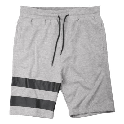 Summer new street style jogger shorts male printing black leisure short pants casual beach short pants men cotton K1063