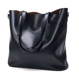 Fashion Women Handbag Wax Leather Women Bag Large Capacity Tote Bag Big Ladies Shoulder Bags Famous Brand Bolsas Feminina
