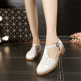 Cow leather woman US size 11 designer vintage handmade beige white 2017 sping summer oxford shoes for women Sandals shoes