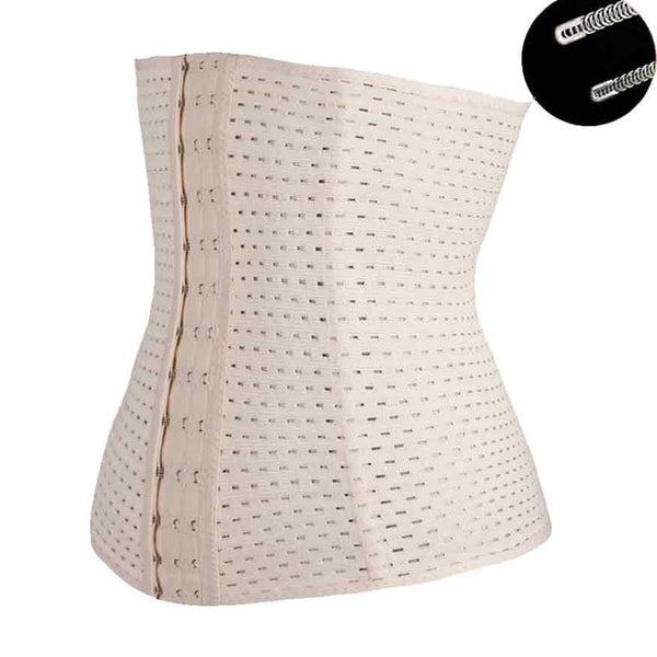 Waist Trainer Corsets Steel Boned Steampunk Sexy Intimates and Bustiers Waist Trainer Shaper Modeling Strap