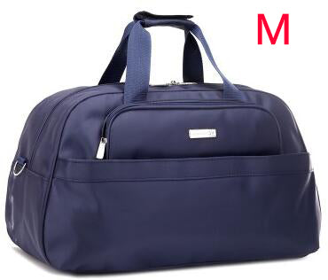 Large Capacity  Men Travel Bags 2017 Portable 3 SIZE Weekend Handbags Black Luggage  30%OFF T309