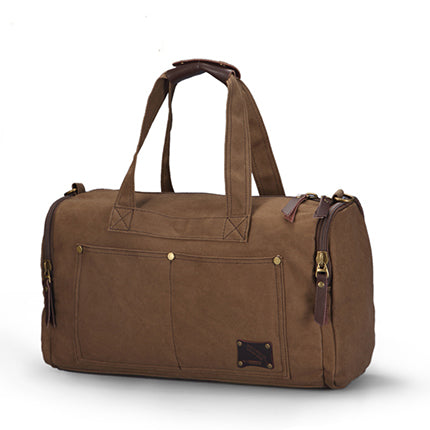 22b77d9385d8 Travel Bag Large Capacity Men Hand Luggage Travel Duffle Bags Canvas  Weekend Bags Multifunctional Travel Bags