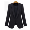 New Spring & Autumn Women Coat Jacket Thin Small Suit Jacket Big Size Black ,blue Slim Casual Blazer for female Jacket