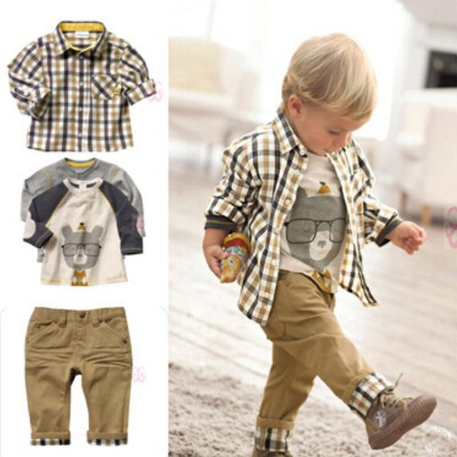 a42c173eb JOHNKART.COM. $32.54 USD. 3 pcs baby boy clothing boys suit clothes china  ...